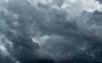 Rain ends; coastal system influence<br>to bring residual clouds Wednesday